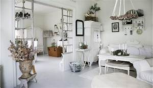 Salon Shabby Chic : salon shabby chic swedish style shabby chic with salon ~ Zukunftsfamilie.com Idées de Décoration