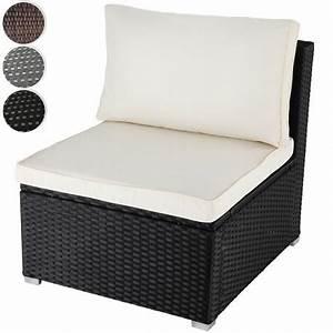 fauteuil canape de jardin noir resine tressee avec coussin With tapis de couloir avec canapé de jardin resine tressee