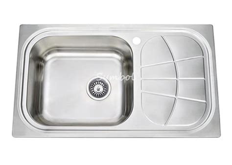 wholesale kitchen sinks stainless steel china best top mount drop in single bowl cleaning