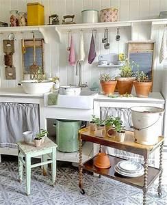 Küchen Und Esszimmerstühle : country style kitchen k chen pinterest landhausk che franz sische landhausk chen und ~ Orissabook.com Haus und Dekorationen