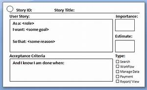 image gallery scrum story With scrum user stories template