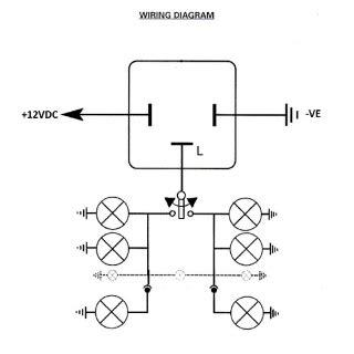 0 744 10 durite 12v led flasher unit arc components ltd