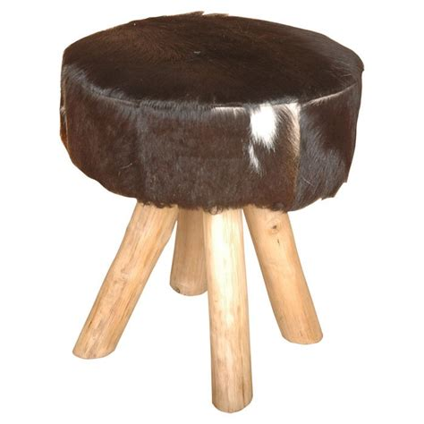 Cowhide Stool by Cowhide Stool Animal Print For The Home