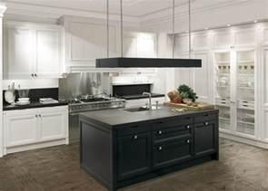 black granite top kitchen island cuisine blanche et moderne ou classique en 55 idées