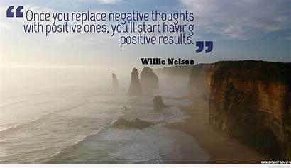 Positive Thoughts Quotes Negative Daily Backgrounds Cards
