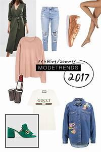 Outfit Sommer 2017 : modetrends 2017 das sind die must haves im fr hling und sommer ~ Frokenaadalensverden.com Haus und Dekorationen