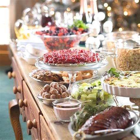 christmas party food ideas buffet buffet serving tips and display ideas