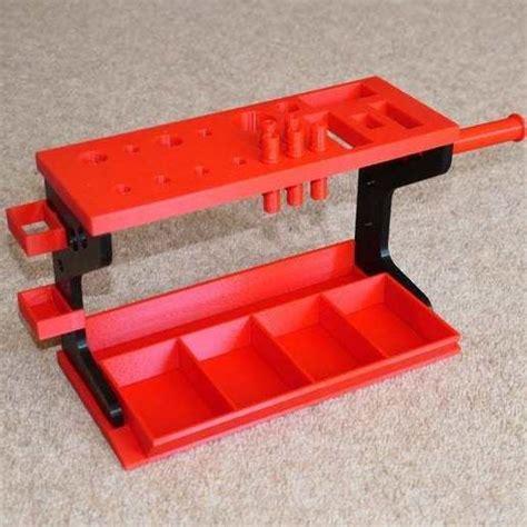 stl file desktop tool rack organizer  small hand tools template   print