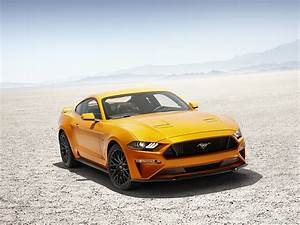 2018 Ford Mustang V8 GT with Performance Package (Color: Orange Fury) | HD Wallpaper #2
