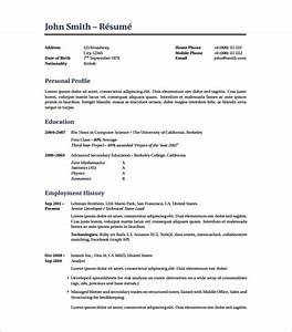 latex resume template 8 free word excel pdf free With best resume pdf
