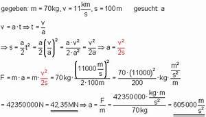 Beschleunigungskraft Berechnen : oberstufe l sung der aufgaben zum dynamischen grundgesetz i ~ Themetempest.com Abrechnung
