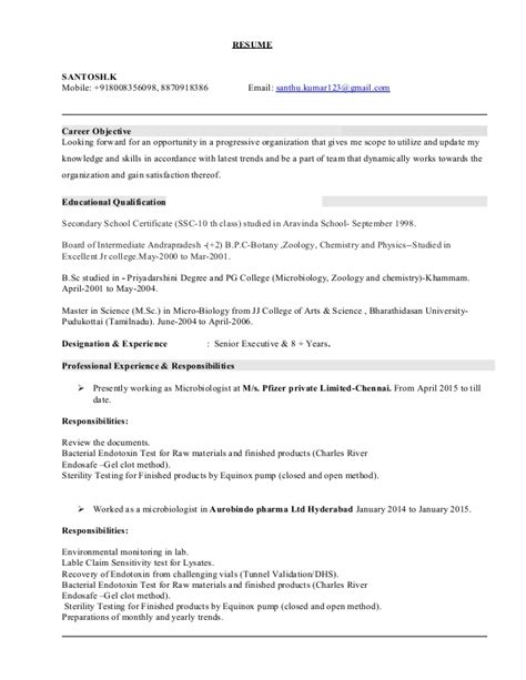 Microbiologist Resume Format by Microbiologist Resume Template 5 Free Word Pdf Microbiologist Resume Template 5 Free Word Pdf