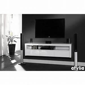 Meuble Sous Tv Suspendu : meuble sous tv suspendu meuble tele angle design maison boncolac ~ Teatrodelosmanantiales.com Idées de Décoration