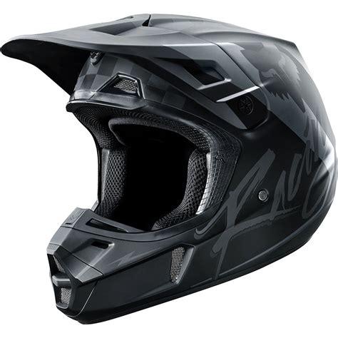 new motocross helmets fox racing 2017 mx new v2 rohr black grey dirt bike
