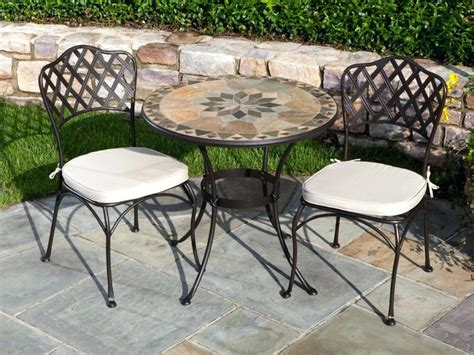 Small Outdoor Table And Chair Set by Choose Bistro Table Sets For Small Spaces At Home