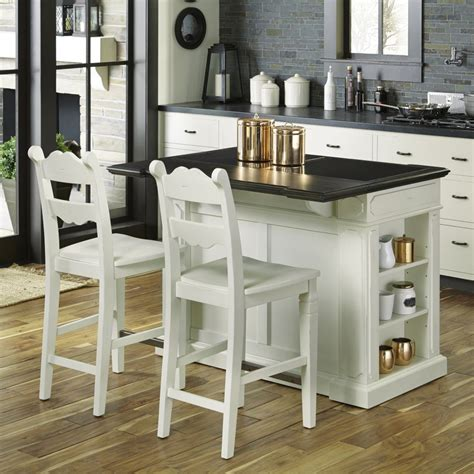 granite topped kitchen island granite top kitchen island with 2 stools homestyles