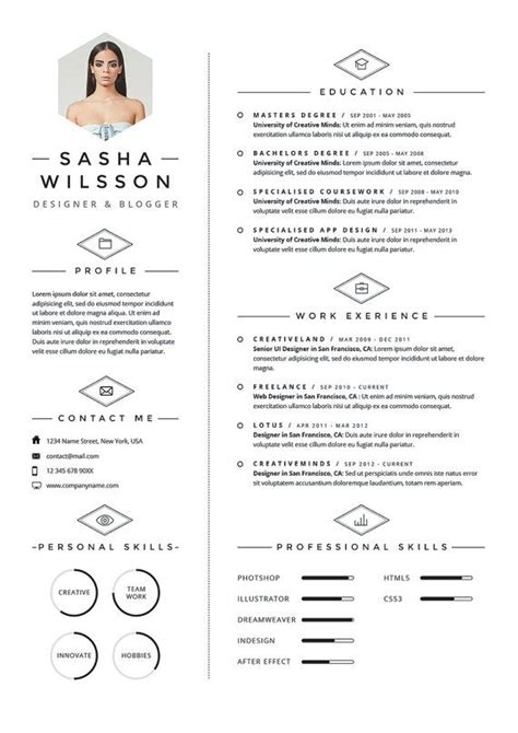 Mode Cv by 5 Page Resume Template Cv Template Pack Cover Letter
