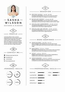 5 Page Resume Template    Cv Template Pack   Cover Letter
