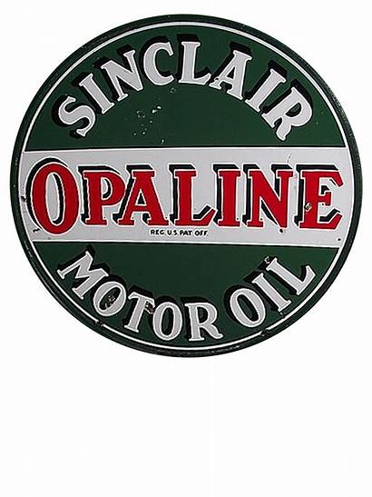 Gas Sinclair Oil Opaline Companies Signs Stations