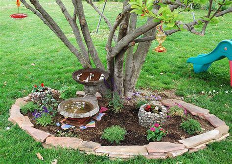 amazing ideas  flower beds  trees