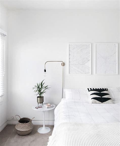 achieve  minimal scandinavian bedroom homey