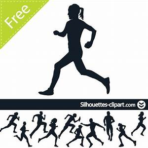 Runner Silhouette Clipart | Free download best Runner ...