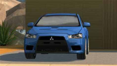 2010 Mitsubishi Lancer Evolution X at Understrech