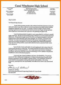 Reference Letter Template For Employee 6 Letter Of Recommendation For Counselor Position