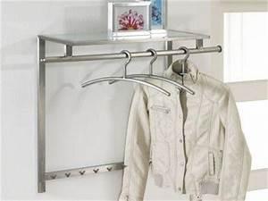 Design Garderobe Edelstahl : edelstahl garderobe ablage online kaufen bei yatego ~ Michelbontemps.com Haus und Dekorationen