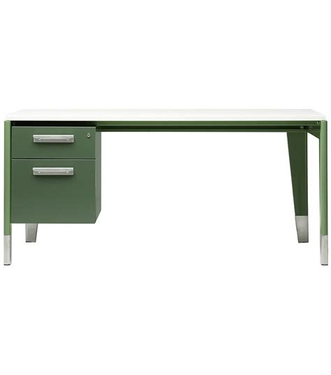 bureau métallique desk vitra milia shop
