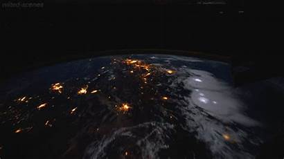 Earth Space Gifs Iss Lightning Nature Universe