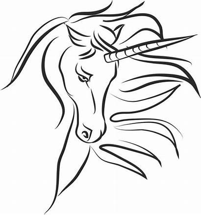 Unicorn Coloring Geeksvgs Malarboecker