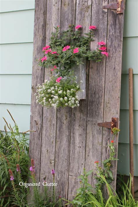 Friend Danita Rustic Garden Decor Organized Clutter
