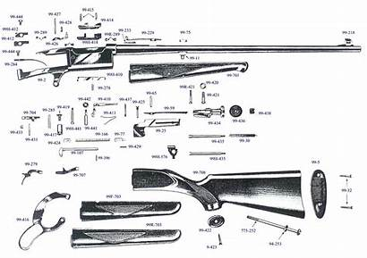 Savage Gun Parts Exploded Leeroysramblings Views Illustration
