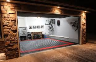 cool garage flooring home garage shop shed