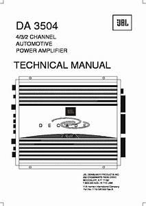 Jbl Da 3504  Serv Man14  Service Manual  U2014 View Online Or