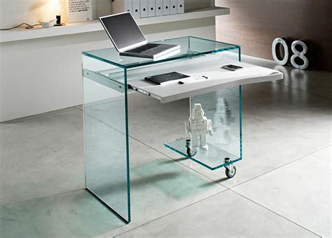 glass top work desk tonelli work box glass desk glass desks home office