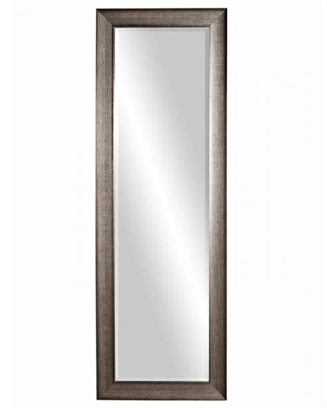 Silver Bathroom Mirror Rectangular by Maverick Rectangular Textured Silver Mirror Uvhe69048
