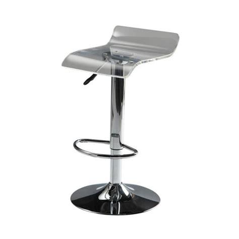 maison du monde chaise de bar tabouret de bar en plastique acrylique et métal chromé pop maisons du monde