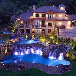 Grand pools and waterfalls befitting of this magnificent ...