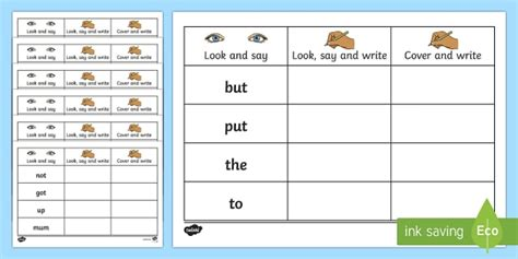 high frequency words writing practice worksheets worksheets