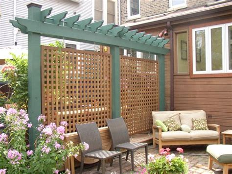 Backyard Privacy Screens Trellis by 17 Creative Ideas For Privacy Screen In Your Yard