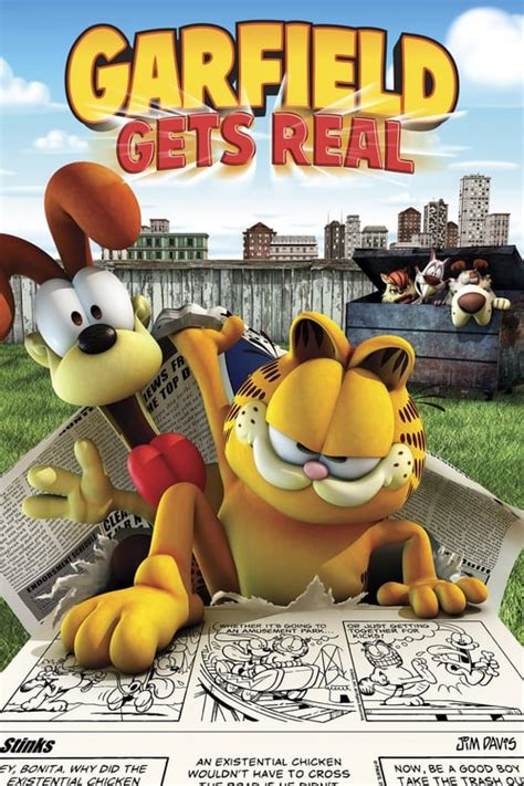 garfield  real