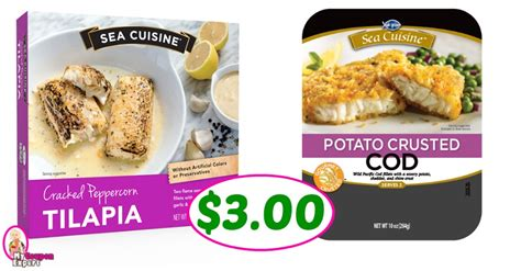ea cuisine sea cuisine entrees just 3 00 each at publix