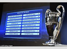 Champions League draw Manchester City paired with