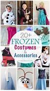 20  DIY Disney FROZEN Costumes   Accessories  Diy Disney Costumes