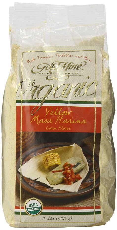 Amazoncom  Gold Mine Organic Masa Harina Corn Flour