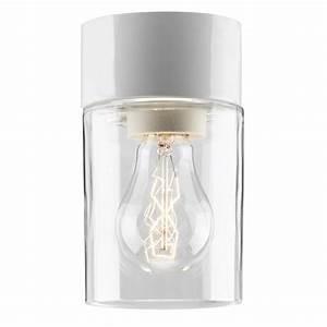 Design Sauna Mit Glas : minimalistische deckenleuchte in keramik und glas f r bad und sauna oder den au enbereich ~ Sanjose-hotels-ca.com Haus und Dekorationen