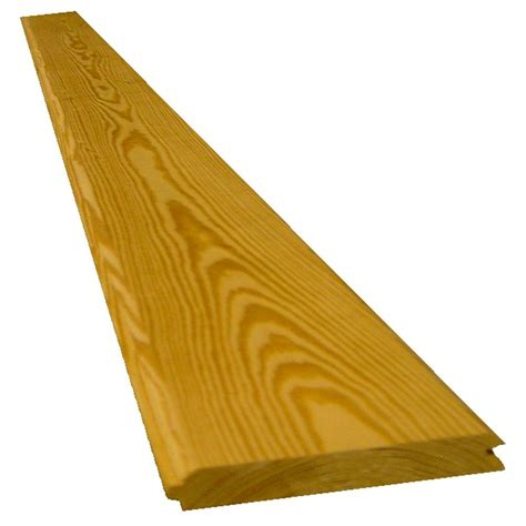 1 X 6 Shiplap Boards by 1 In X 6 In X 8 Ft Southern Yellow Pine 122 V Joint
