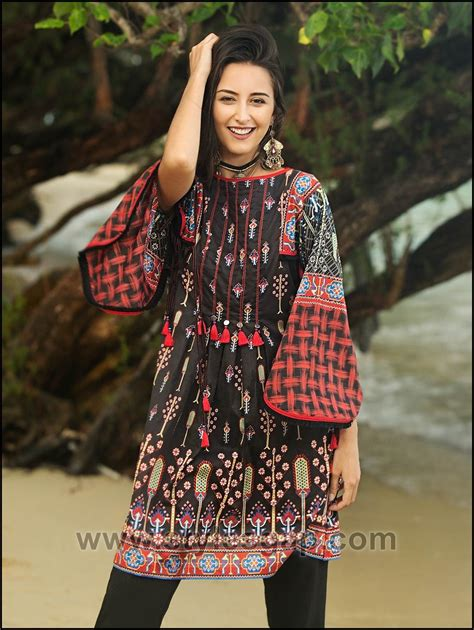 Summer Fashion Lawn Kurti Designs Trends Latest Collection